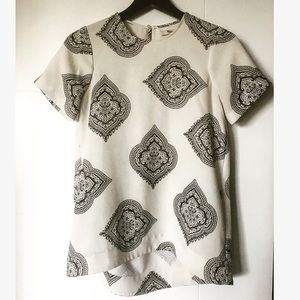 Like New Madewell Estate Paisley Crepe T Shirt